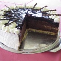 Brombeer- Schoko- Torte