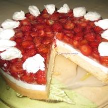 Erdbeer- Sahnetorte