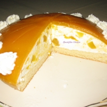Mango- Quark-Torte