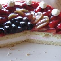 Obst- Joghurt- Torte