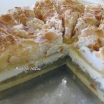 Rhabarber- Baiser- Torte
