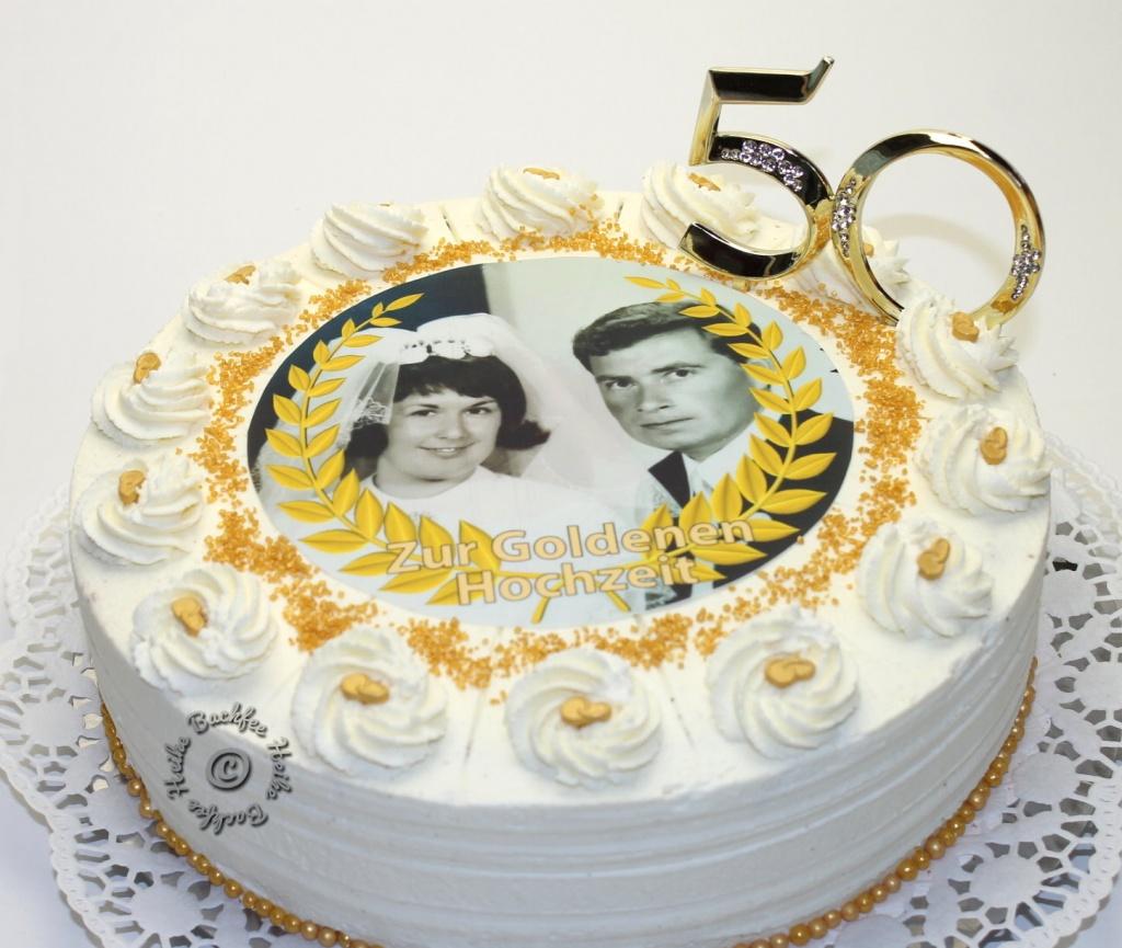 Torte Zur Goldenen Hochzeit Backfee Heike Reichenbach Best