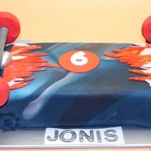 Skatboard Torte2