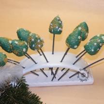 Weihnachts Cake Pops